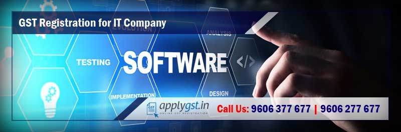 GST Registration for IT Company