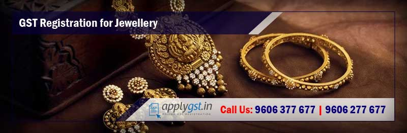 GST Registration for Jewellery