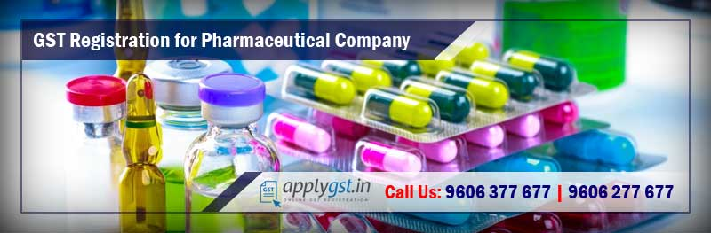 GST Registration for Pharmaceutical Company