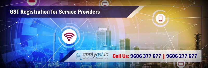 GST Registration for Service Providers
