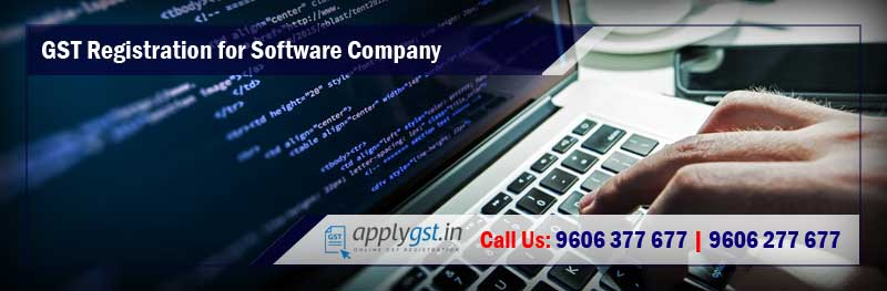 GST Registration for Software Company